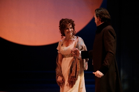 Amelia McClain as Marianne and Alex Podulke as Colonel Brandon Photo