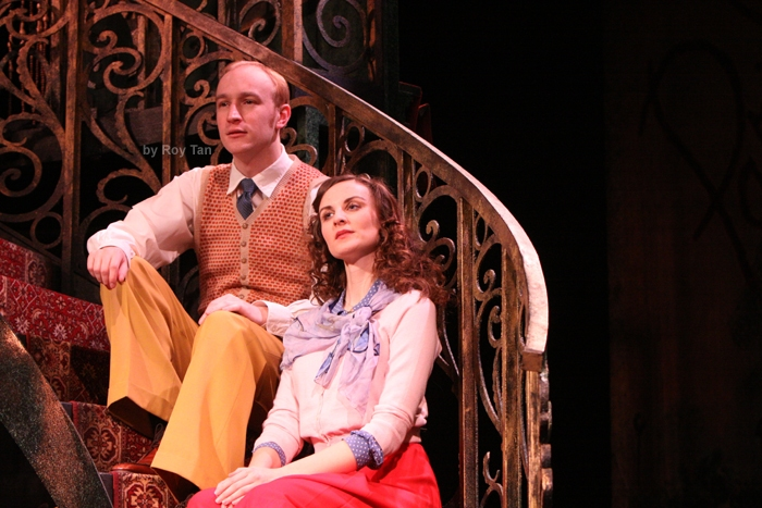 High Res  Stuart Matthew Price as Julian and Kathy Treharne as Nina