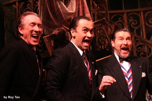 Peter Land as President 1, Jack Rebaldi as President 2, and Robert Meadmore as Presid Photo