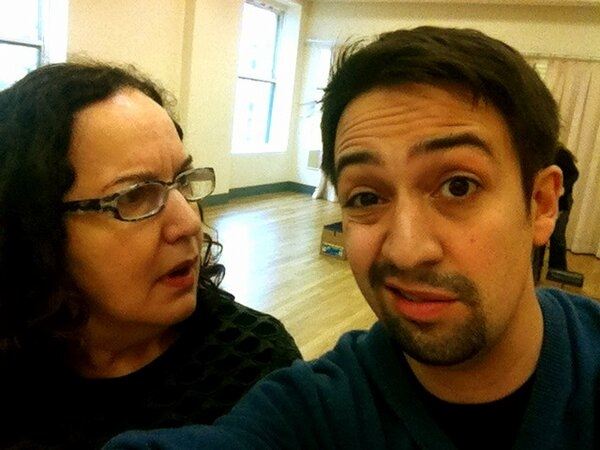 Twitter Watch: Lin-Manuel Miranda Tweets from IN THE HEIGHTS Rehearsal!