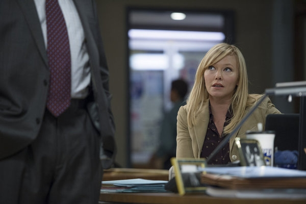 Kelli Giddish at LAW & ORDER: SVU's 'Deadly Ambition'