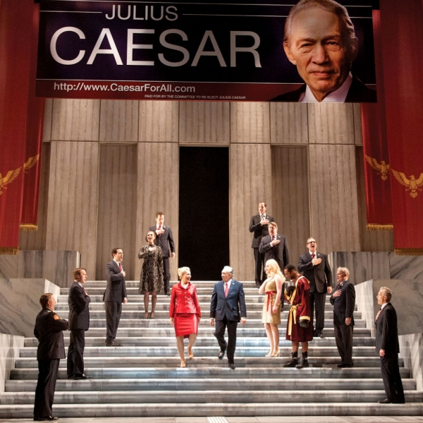 Photo Flash: First Look at David Darlow, John Light and More in CST's JULIUS CAESAR