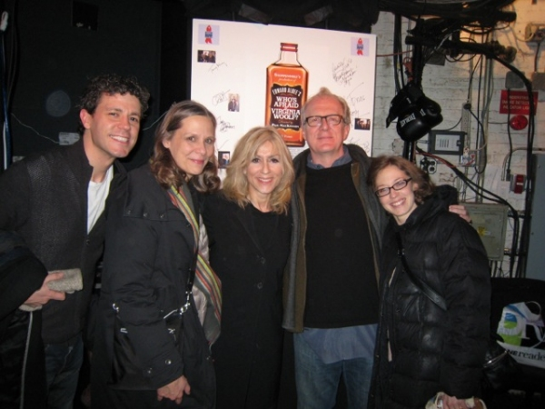 Photo Flash: Judith Light Visits WHO'S AFRAID OF VIRGINIA WOOLF?
