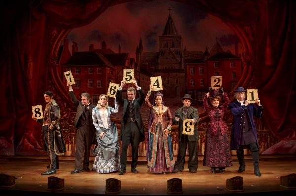 Andy Karl and Betsy Wolfe Depart THE MYSTERY OF EDWIN DROOD Today;  Andrew Samonsky and Erin Davie to Join Cast 2/12