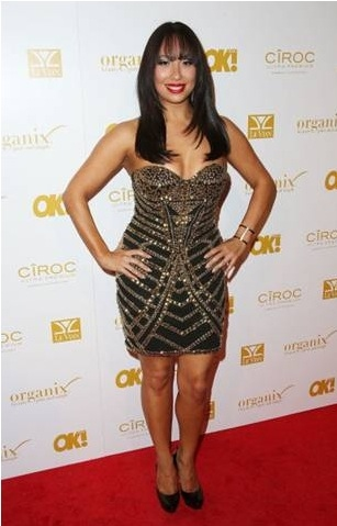 Cheryl Burke attending the Quattro Volte Vodka Pre-Grammy Event in Hollywood (images courtesy of www.gettyimages.com)