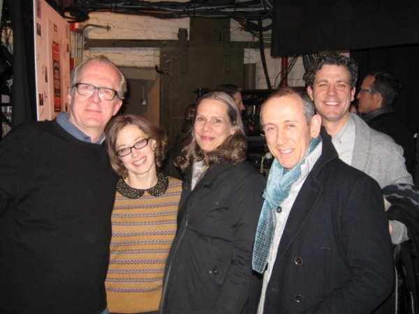 Tracy Letts, Carrie Coon, Amy Morton, Nicholas Hytner, Madison Dirks Photo