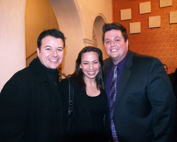 Troy Magino, Darcie Roberts, and T.J. Dawson