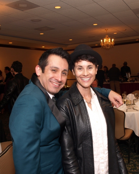 Venny Carranza and Beth Malone