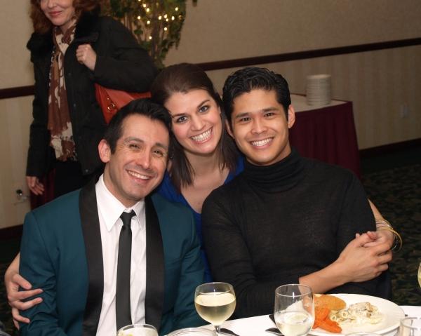 Venny Carranza, Kristen Lamoureux, and Kavin Panmeechao