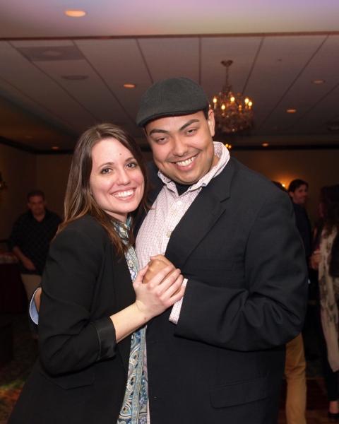 Gretchen Dawson and Bobby Bennett