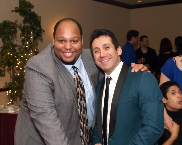 Arthur Ross and Venny Carranza