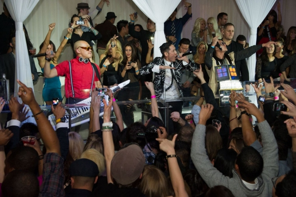 Photo Flash: Far East Movement Performs at Las Vegas' PURE Nightclub