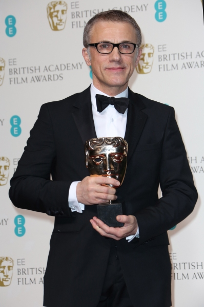 Mandatory Credit: Photo by Matt Baron / BEImages (1235235cd)Christoph WaltzEE British Academy Film Awards, Press Room, Royal Opera House, London, Britain - 10 Feb 2013