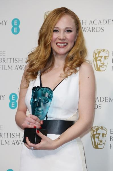 Mandatory Credit: Photo by Matt Baron / BEImages (1235235cp)Juno TempleEE British Academy Film Awards, Press Room, Royal Opera House, London, Britain - 10 Feb 2013