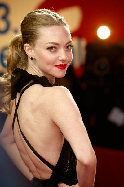 Mandatory Credit: Photo by Willi Schneider/Rex / Rex USA (1235199i)Amanda Seyfried'Les Miserables' film premiere, 63rd Berlinale International Film Festival, Berlin, Germany - 09 Feb 2013 at Hathaway, Jackman & More Shine at LES MISERABLES Berlin Film Premiere