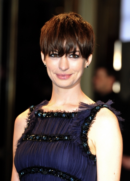 Mandatory Credit: Photo by Camilla Morandi/Rex / Rex USA (1235203af)Anne Hathaway'Les Miserables' film premiere, 63rd Berlinale International Film Festival, Berlin, Germany - 09 Feb 2013 at Hathaway, Jackman & More Shine at LES MISERABLES Berlin Film Premiere