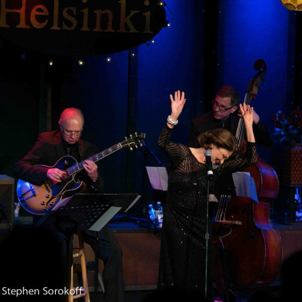 Linda Lavin at Linda Lavin & Billy Stritch Play Helsinki Hudson