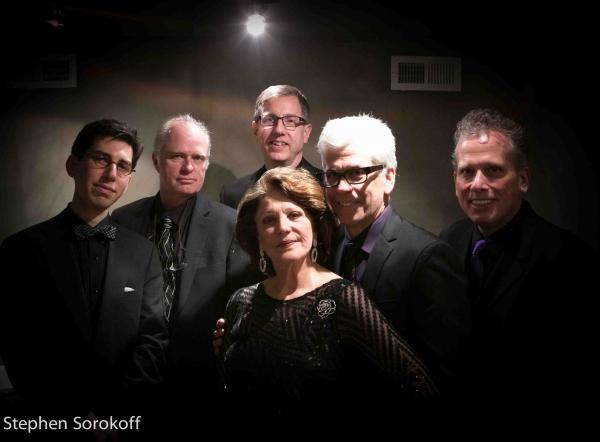 Aaron Weinstein, John Hart, Tom Hubbard Steve Bakunas, Billy Stritch, Linda Lavin Photo