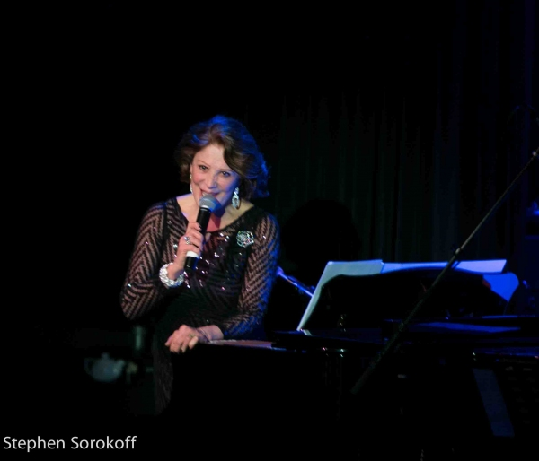 Linda Lavin at Linda Lavin & Billy Stritch Play Helsinki Hudson