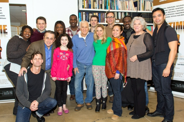 B: NaTasha Yvette Williams, Michael Arden, Patina Miller, Norm Lewis, Matt Cavenaugh, Howard McGillin, Philip Boykin, Jose Llana, F: Jarrod Emick, Michael McCormick, Lilla Crawford, Dick Latessa, Kerry Butler, Lea Salonga, Tyne Daly at Meet the Cast of the Star-Studded RAGTIME Concert- Norm Lewis, Lea Salonga, Patina Miller and More!