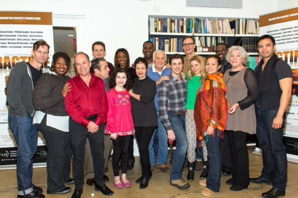 Jarrod Emick, NaTasha Yvette Williams, Stephen Flaherty, Michael McCormick, Michael Arden, Lilla Crawford, Patina Miller, Lynn Ahrens, Norm Lewis, Dick Latessa, Matt Cavenaugh, Howard McGillin, Kerry Butler, Lea Salonga, Philip Boykin, Tyne Daly, Jose Lla at Meet the Cast of the Star-Studded RAGTIME Concert- Norm Lewis, Lea Salonga, Patina Miller and More!