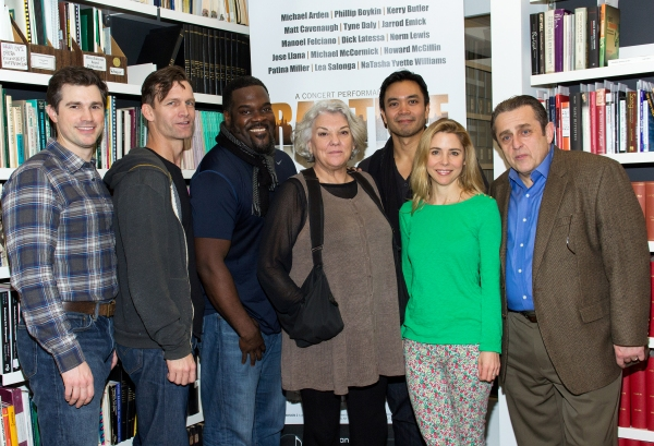 Matt Cavenaugh, Jarrod Emick, Tyne Daly, Jose Llana, Kerry Butler, Michael McCormick at Meet the Cast of the Star-Studded RAGTIME Concert- Norm Lewis, Lea Salonga, Patina Miller and More!