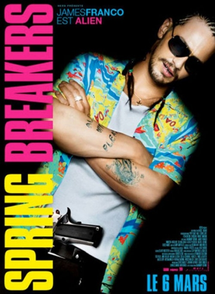 James Franco at Selena Gomez & More Featured in SPRING BREAKERS Character Posters
