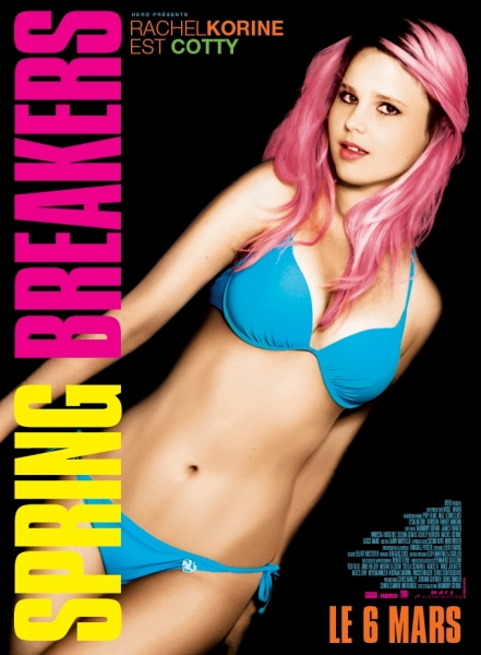 Rachel Korine at Selena Gomez & More Featured in SPRING BREAKERS Character Posters