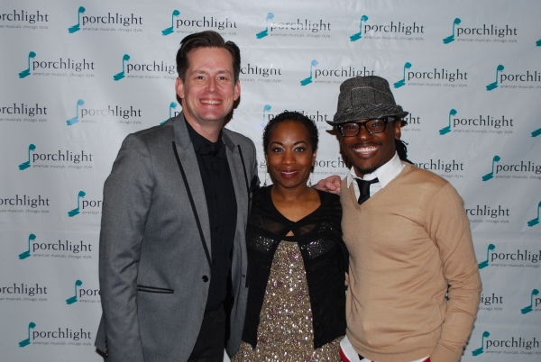 Rob Lindley, Alexis J. Rogers, and Jaret Landon Photo