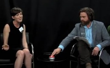 Anne Hathaway & Amy Adams In Funny Or Die! Spoof