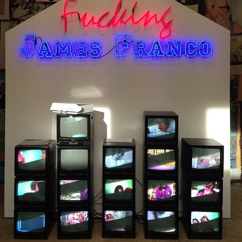 James Franco Premieres GAY TOWN Berlin Art Exhibit