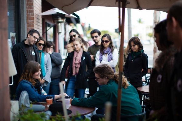 Photo Flash: First Look at Circle Circle dot dot's Site-Specific Tour SAN DIEGO, I LOVE YOU