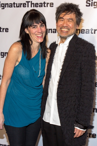 Leigh Silverman, David Henry Hwang at Signature Theatre Gala Celebrates David Henry Hwang!