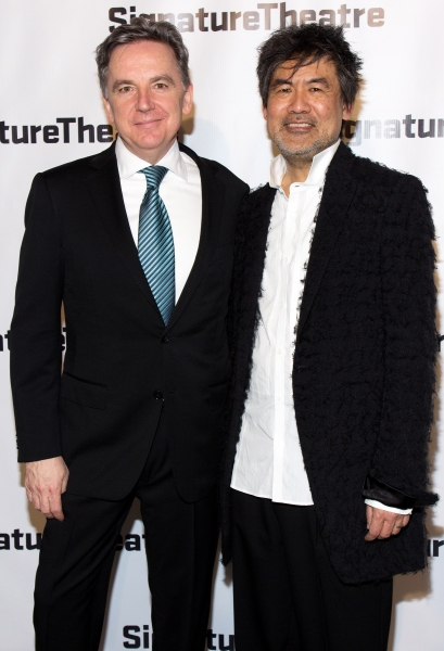 James Houghton, David Henry Hwang at Signature Theatre Gala Celebrates David Henry Hwang!