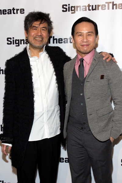 David Henry Hwang, B.D. Wong at Signature Theatre Gala Celebrates David Henry Hwang!