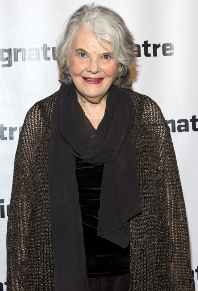 Lois Smith at Signature Theatre Gala Celebrates David Henry Hwang!