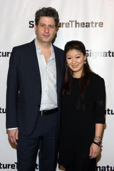 Gary Wilmes, Jennifer Lim at Signature Theatre Gala Celebrates David Henry Hwang!