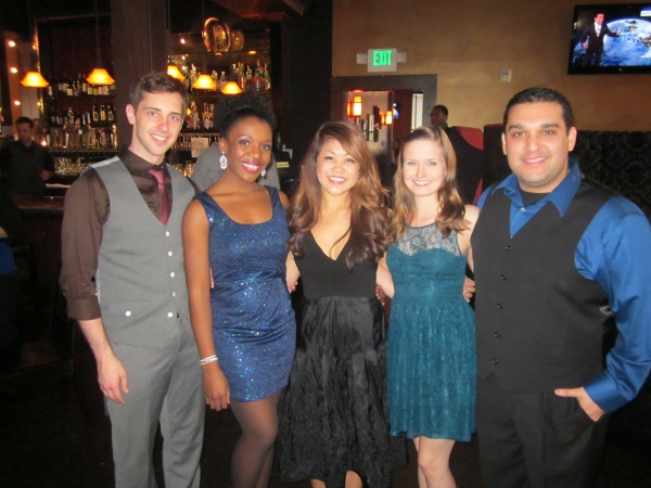 left to right: Clinton J. Sherwood, Katherine Washington, Charlotte Mary Wen, Kelsey Hainlen, Jonathan Arana