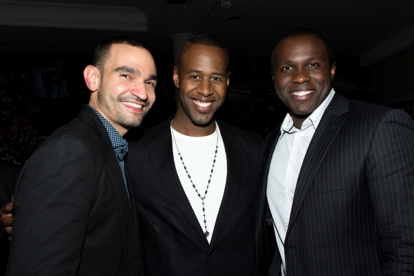 Javier Munoz, Marcus Paul James, Joshua Henry