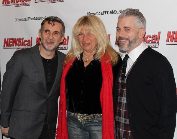 Greg Lagola, Robin Byrd and Joseph La Corte Photo