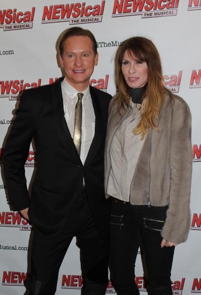 Carson Kressely and Carole Radziwill