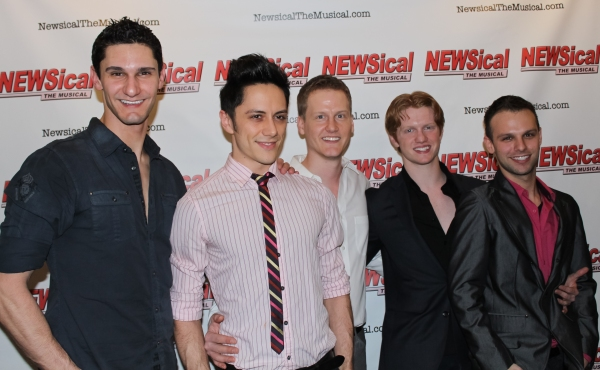 Photo Coverage: Carson Kressley Joins Cast of NEWSICAL!