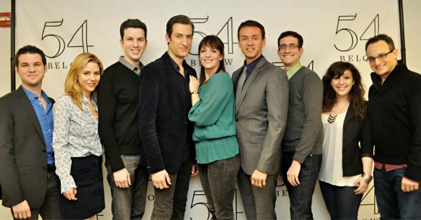 Etai BenShlomo, Kerry Butler, Alan Zachary, Bryce Ryness, Julia Murney, Andrew Lippa, Zachary Redler, Sara Cooper, and Michael Weiner