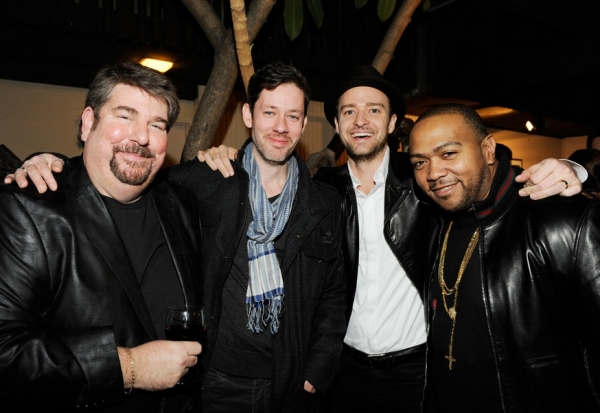 Trigg Ison, Darren LeGallo, Justin Timberlake, and Timbaland