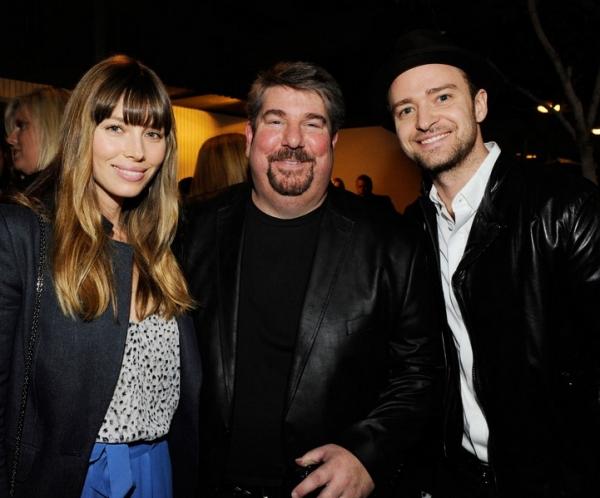 Jessica Biel, Trigg Ison and Justin Timberlake