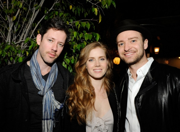 Darren LeGallo, Amy Adams and Justin Timberlake