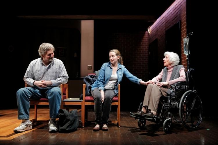 High Res John Ellison Conlee, Phoebe Strole and Francis Sternhagen