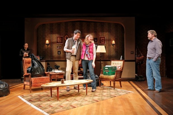 Photo Flash: First Look at Edie Falco and More in MTC's THE MADRID!