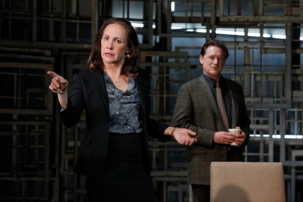 Photo Flash: New Shots - Laurie Metcalf and Bill Pullman in MTC's THE OTHER PLACE