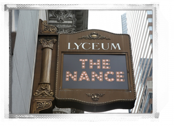 Up on the Marquee: THE NANCE